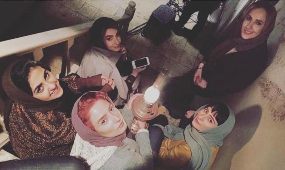 عکس هانیه توسلی و نگار جواهریان در قابی عجیب: «گرگ بازی» در راه سینماها
