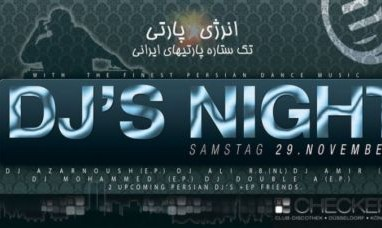 Persian Party: DJ's Night