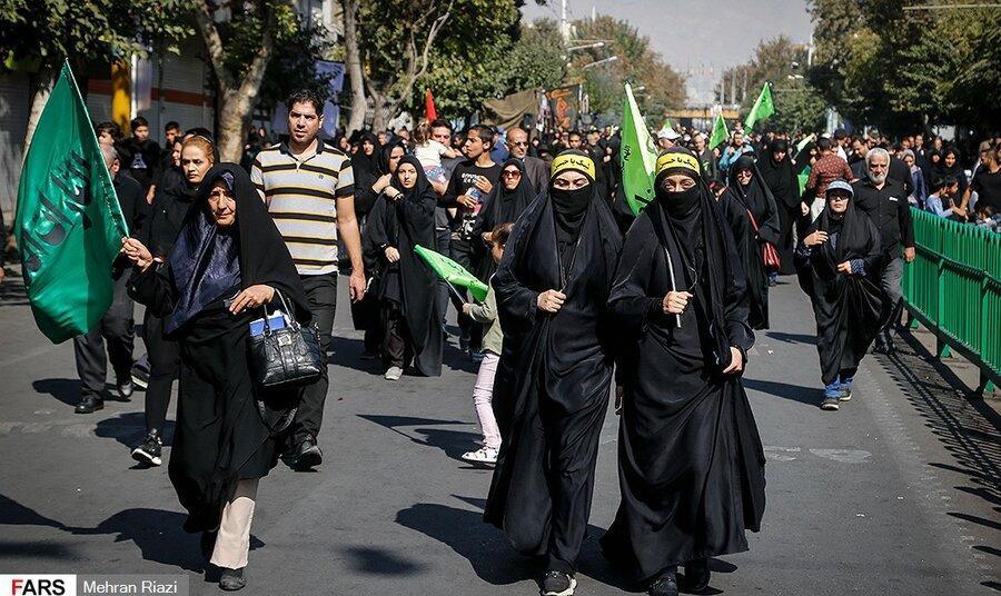 گزارش تصویری: راهپیمایی
