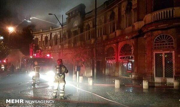 میدان تاریخی حسنآباد تهران در آتش سوخت!