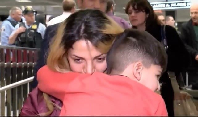 Trump defends Detaining 5-year-old Iranian American Boy in Airport ...