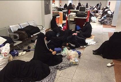 نخستین گروه زائران ایرانی حج تمتع، کشور را ترک کرد: ترمینال حجاج از بقیه پروازها جدا شد