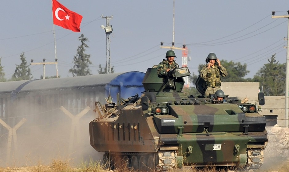ارتش ترکیه با عبور از مرز سوریه وارد منطقه کردنشین «عفرین» شد