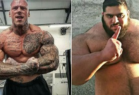 Iranian Hulk to fight Scary British MMA Fighter
