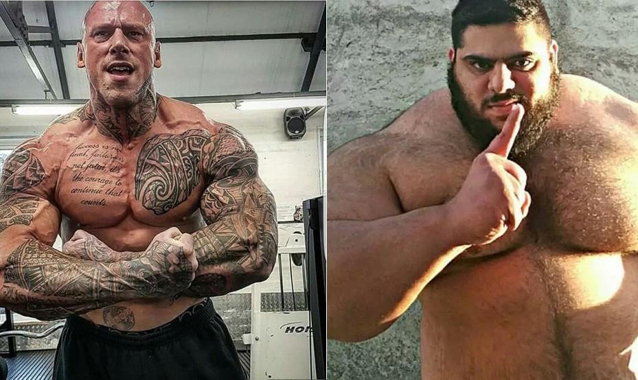 Iranian Hulk to fight Scary British MMA Fighter