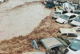 Flood in Shiraz drowns 200 cars, Historic Vakil Bazar submerged