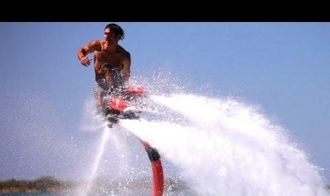 Interesting new water jet pack technology (video)