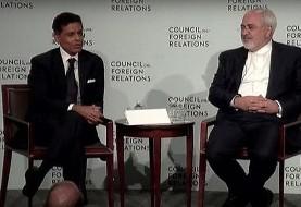 جزئیات سخنرانی مهم ظریف در شورای روابط خارجی آمریکا همراه فرید ذکریا (ویدئو)