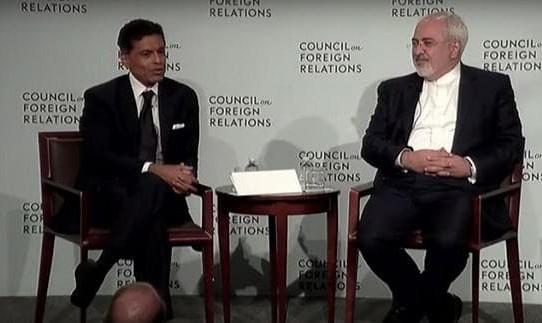 جزئیات سخنرانی مهم ظریف در شورای روابط خارجی آمریکا همراه فرید ...