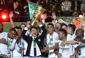 فرانکفورت با شکست بایرن مونیخ قهرمان جام حذفی آلمان شد