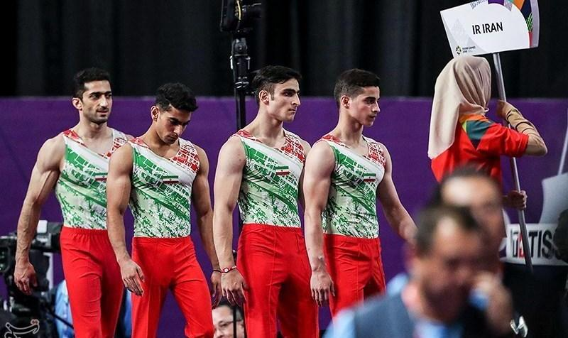 Video: Iranian Gymnasts Win Historic Medals in World Cup of Gymnastics