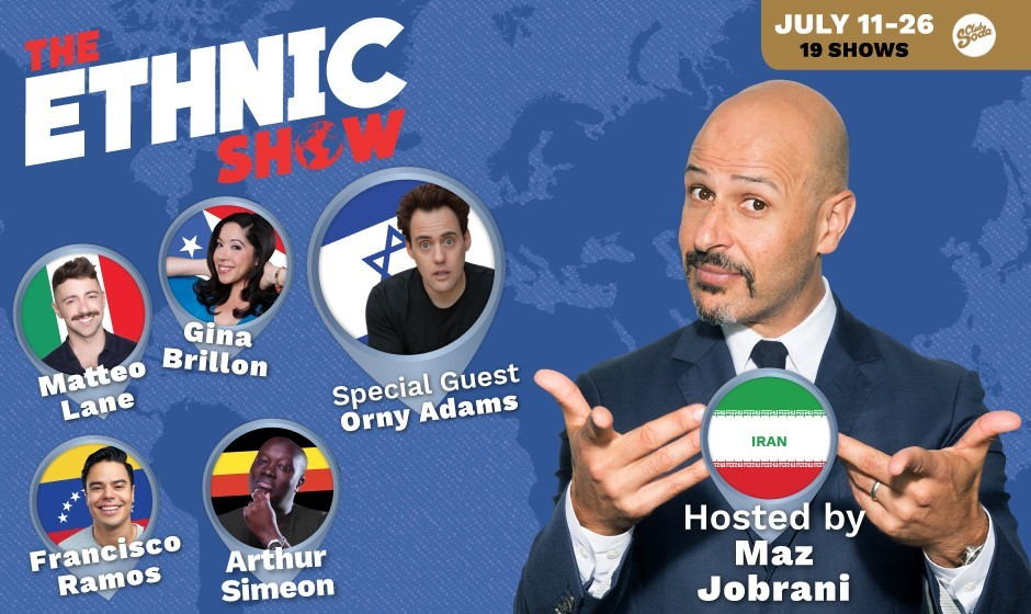 MONTREAL: Maz Jobrani hosting The Ethnic Show at Just for Laughs in Montreal