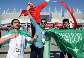 جشن صعود اروگوئه با حذف عربستان و مصر: میزبان هم صعود کرد