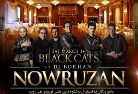 Nowruzan with Black Cats and DJ Borhan