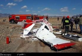 سقوط هواپیمای آموزشی منجر به کشته شدن دو نفر در کاشمر شد