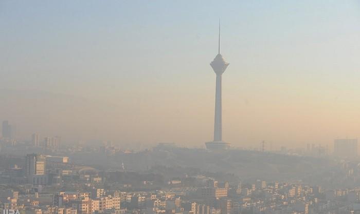 هوای تهران باز ناسالم شد
