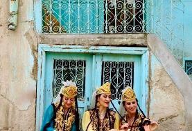 رقص جاده ابریشم توسط گروه رقص گلستان