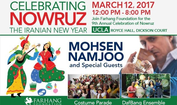 Farhang's 9th Annual Celebration of Nowruz at UCLA