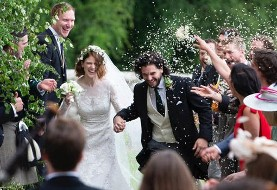 Game of Thrones: Kit Harington and Rose Leslie's Scottish wedding