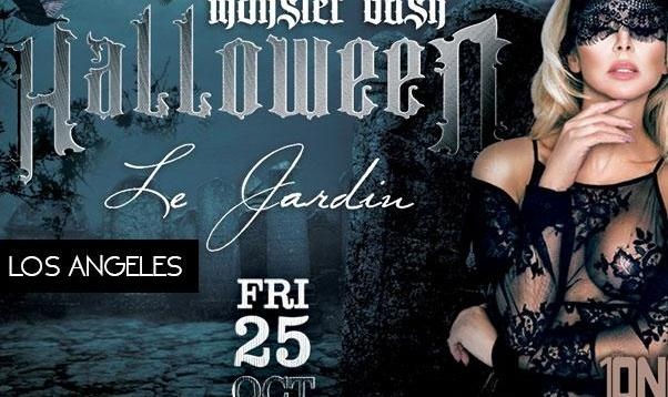 Halloween Monster Bash at Le Jardin Hollywood