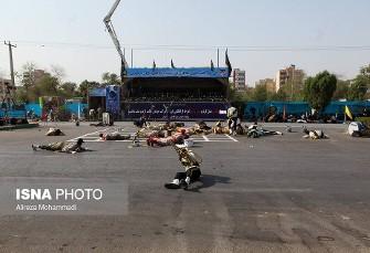 گزارش کامل فیلم و عکس جزئیات حمله امروز  به رژه ...