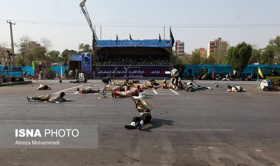 Pictures and Videos: ISIL-inspired Attack in Ahvaz Kills IRGC and ...