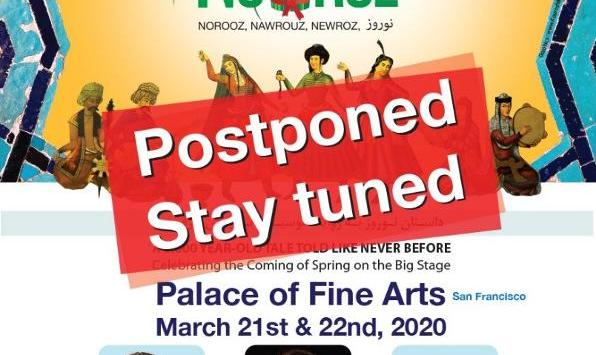 POSTPONED: The Story of Nowruz: Original Live Stage Production - SUNDAY