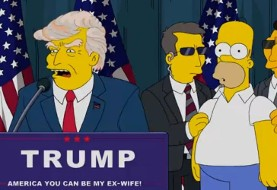 The Simpsons creators predicted a Trump presidency back in 2000 (Video)