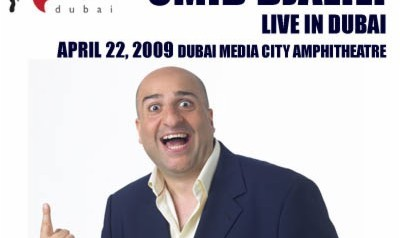 Omid Djalili in Dubai- The Comedy Convention