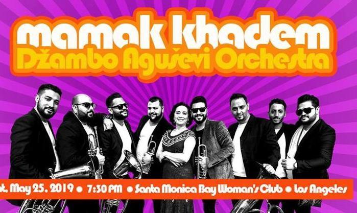 کنسرت مامک خادم و ژامبو اگوسوی از مقدونیه