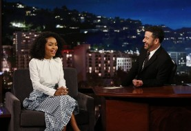 Yara Shahidi tells Kimmel she is proud of Iranian heritage and Michelle Obama (Video)