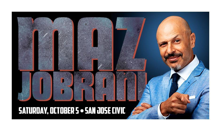 Maz Jobrani in San Jose: The I'm Still Touring Tour!