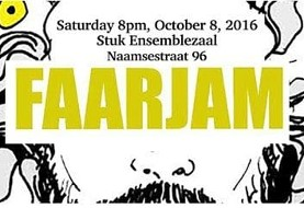 Faarjam concert (Iranian innovative rock/pop) with Roosmarijn Opening the Concert