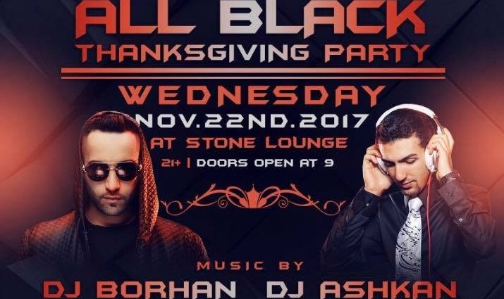 All Black Thanksgiving Party with DJ Borhan