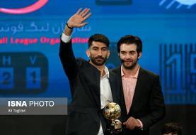 خداحافظی بیرانوند با بازیکنان پرسپولیس در رختکن