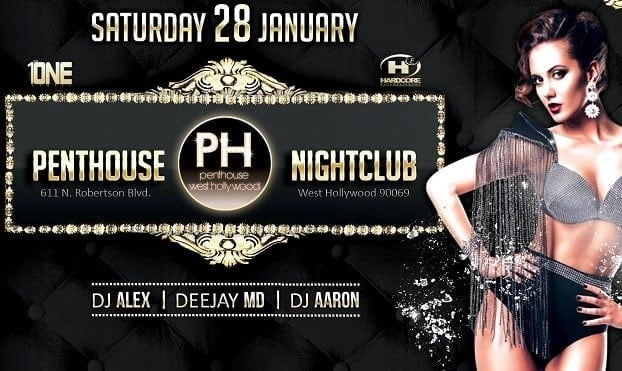 First 2017 Persian Party at Penthouse Nightclub in Los Angeles