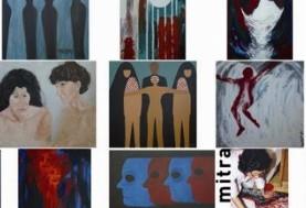 Mitra Shahmoradi- Strohmaier Exhibition in Vienna: Unsichtbares Ich