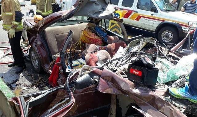 ۳۰ درصد مرگ و میر جوانان در ایران به علت حوادث رانندگی است