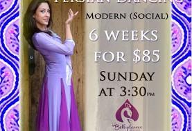 Nazanin Badiei: Persian Dancing (Social) Modern