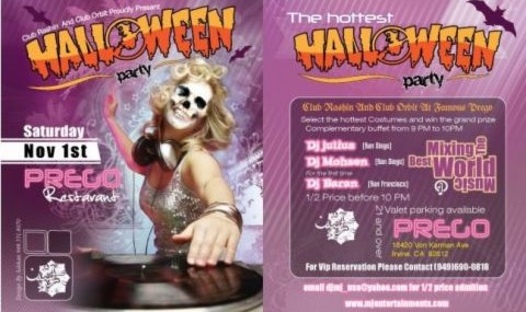 The Hottest Halloween Party in Irvine