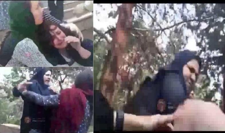 باز هم ویدئوهای مردم مچ ماموران را گرفت! دستور وزیر برای رسیدگی به رفتار وحشیانه مامور گشت ارشاد  با زن بد حجاب با بیمار قلبی