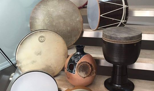 Iranian Percussion Workshop for Children