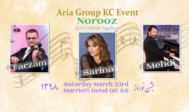 Nowruz Celebration featuring Farzam, Serina and Mehdi