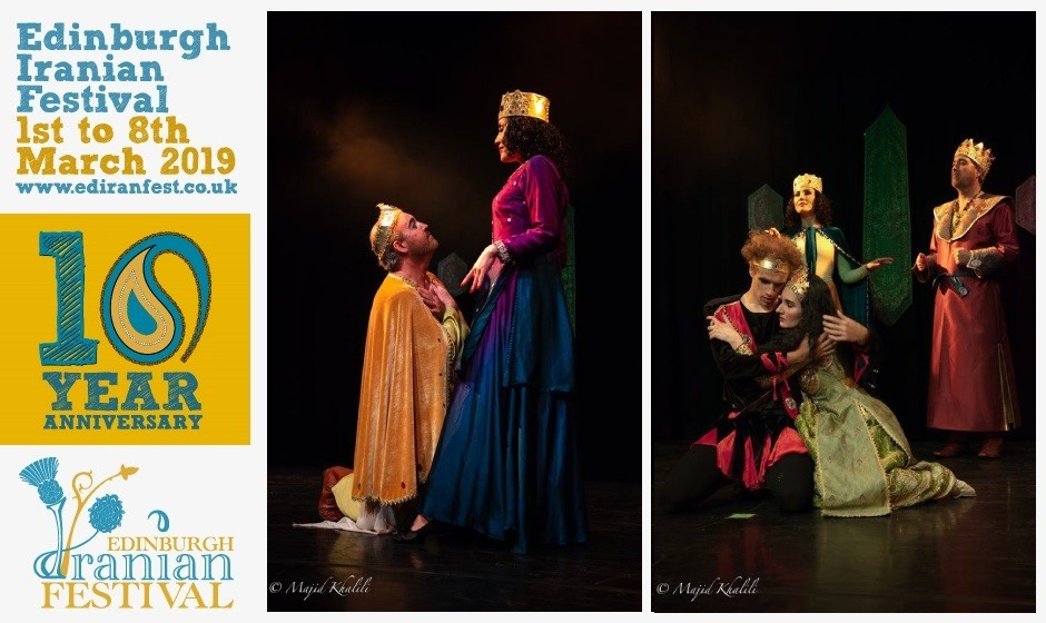 Special Promotion of Shirin at Edinburgh Iranian Festival, Based on Shirin and Farhad