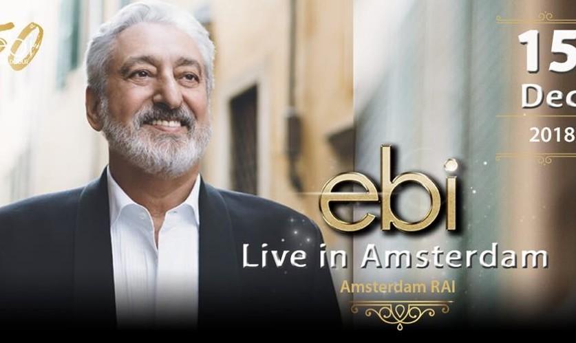 Ebi Live in Amsterdam