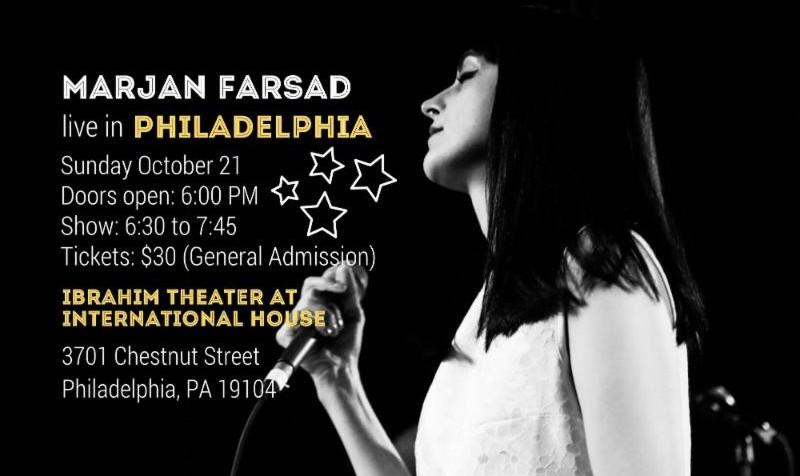 Marjan Farsad Live in Philadelphia