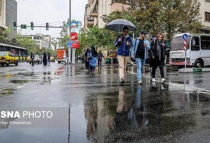 باد و باران هوای تهران را موقتا «سالم» کرد
