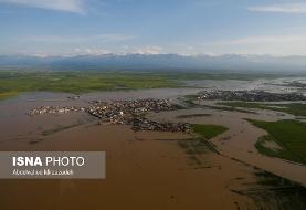 به روایت تصاویر هوایی: مناطق سیلزده گلستان و مازندران