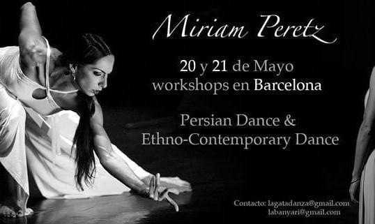 Persian and Ethno-Contemporary Dance - Miriam Peretz