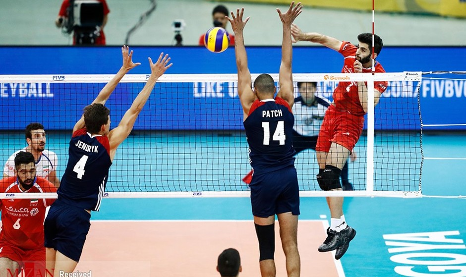 USA, IRAN in FIVB Volleyball Nations League